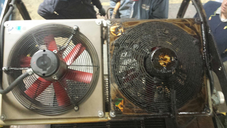 Industrial Fan Cleaning